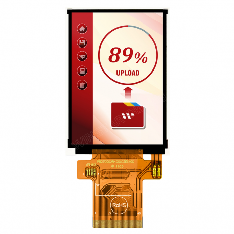 """WINSTAR WF24L-TYAJDNN0+, 2.40"""" TFT, 240x320"""